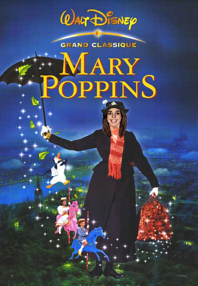 Mary Poppins Movie Poster